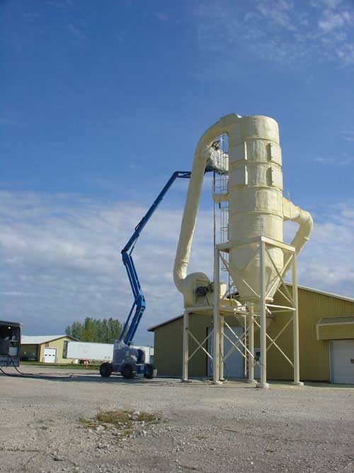 Dust Collector Insulation
