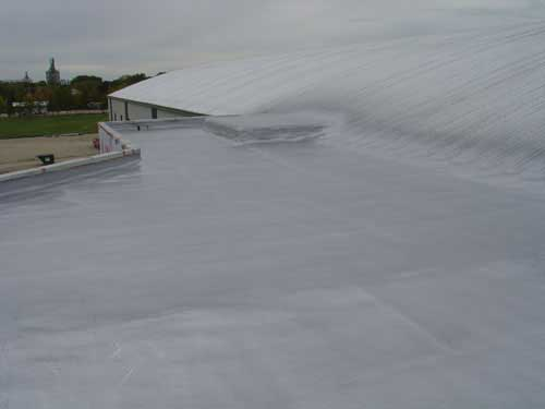 Sloped Roof Spray Foam