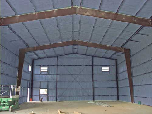 Quonset Workshop Amp Garage Insulation Urecoat Inc