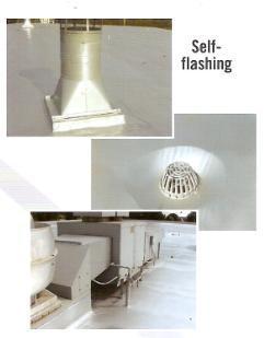 Self Flashing | Aluminum Polymer Coating