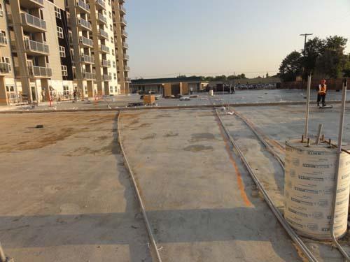 Spray Foam Roof Parkade Urecoat Inc Spray Foam Winnipeg