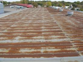 Metal Roof Restoration - Before