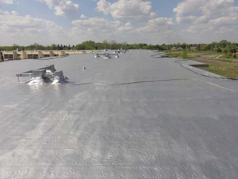 Tar And Gravel Replacement Urecoat Inc Spray Foam