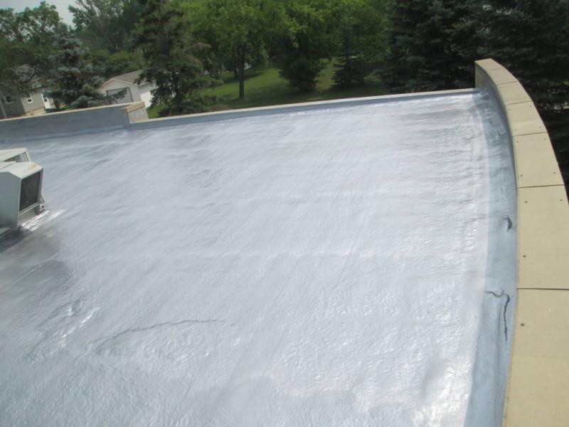 Tar And Gravel Roof Renovations Urecoat Inc Spray