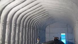 Cementitious Fireproofing Urecoat Inc Spray Foam Winnipeg