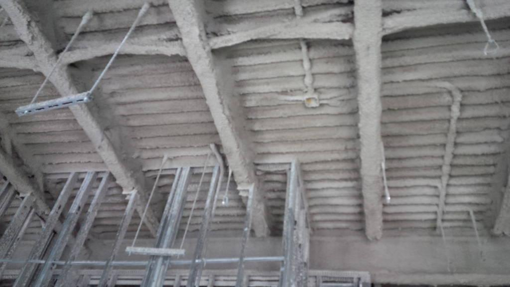 Canex Fireproofing Project Urecoat Inc Spray Foam