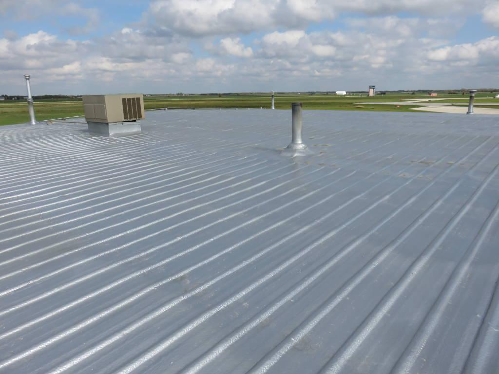 Spray Foam Roofing Application