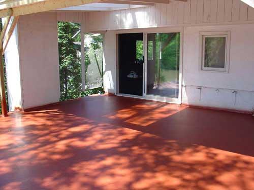 Copper Colour Roofing