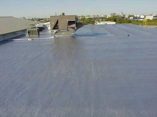 Commercial Roofing with Spray Foam