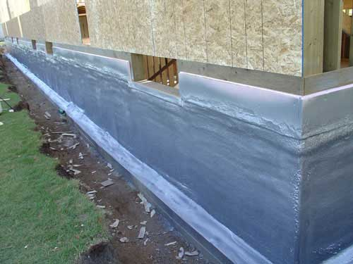 Seal And Protect Foundation Walls