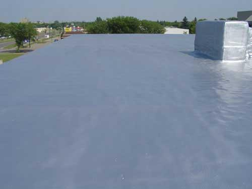 Tar and Gravel Reroofing with Spray Foam Roofing | Winnipeg, Manitoba | Urecoat Spray Foam