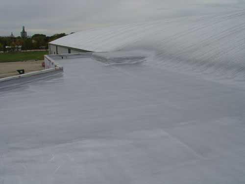 Sloped Roof Spray Foam
