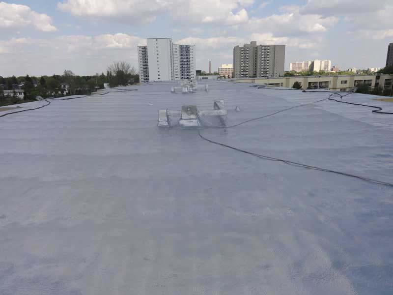 Urecoat Spray Foam Roofing System