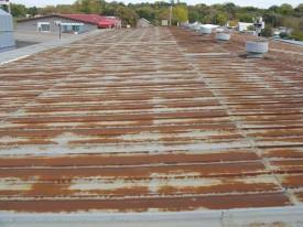 Metal Roof Restoration - Before