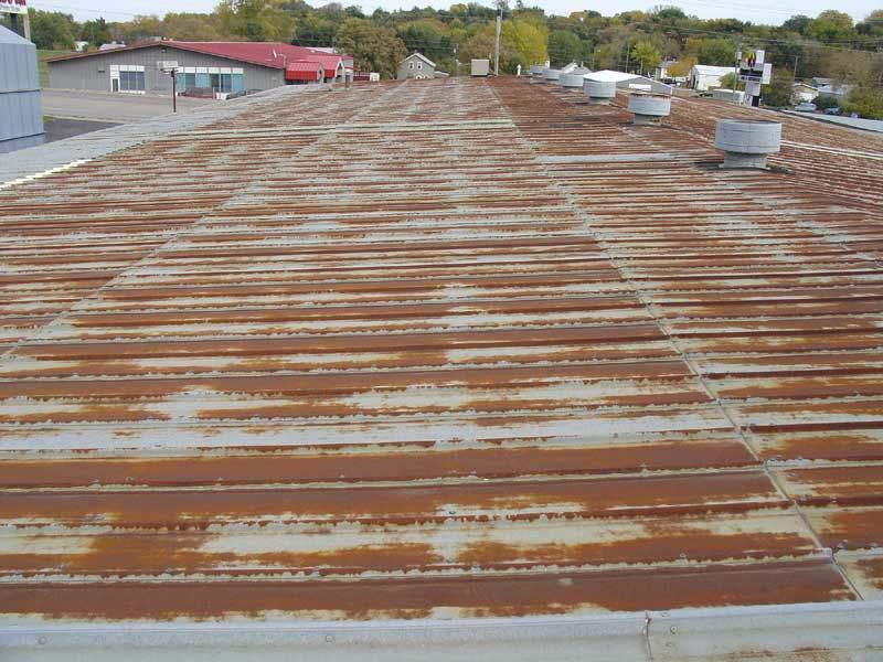 Metal Roof Restoration – Aluminium Polyurea Top-Coat