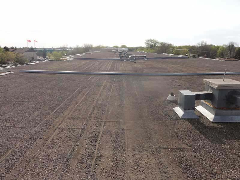 Tar and Gravel Reroofing for Flat Roof's
