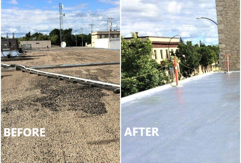 Tar and Gravel Roof Renovations
